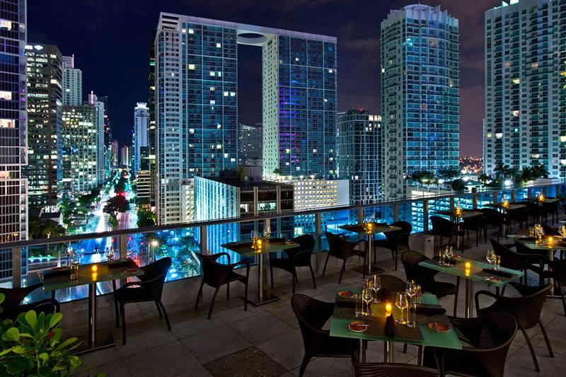 Area 31 at the Epic Hotel, Downtown Miami