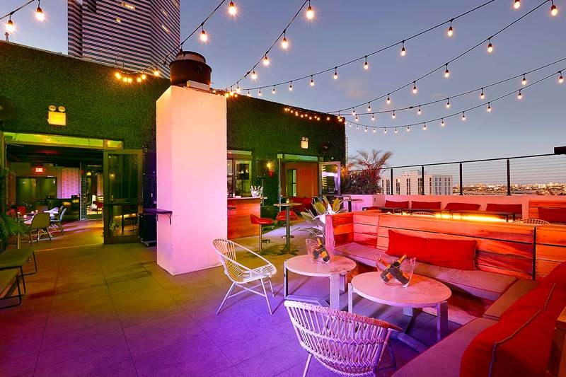Bloom Skybar at the Langford Hotel - Downtown, Miami