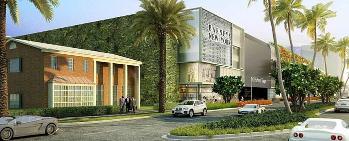 Bal Harbour Expansion Project - Barneys New York (Rendering)