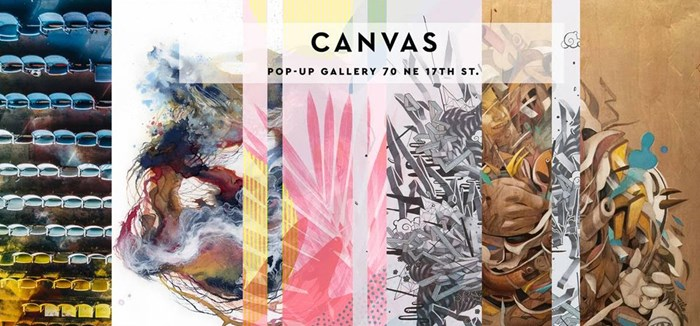 Canvas: Pop-Up Gallery
