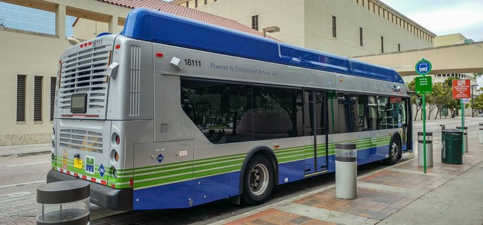 CNG Metro buses