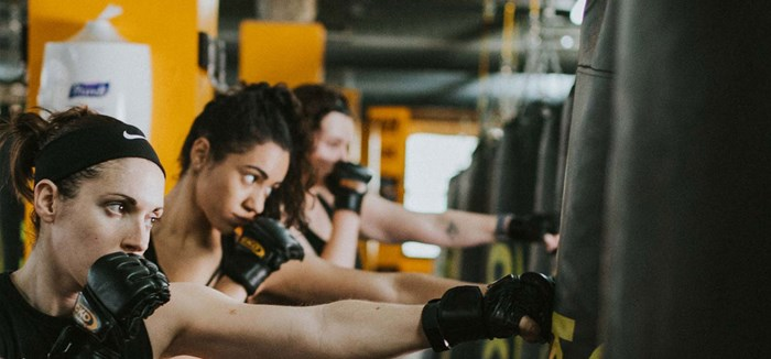 Kickboxing at Brickell City Center: October 1-3