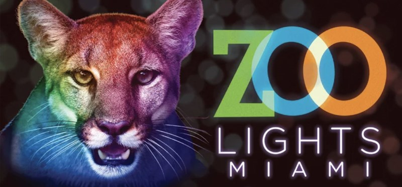 Zoo Lights Miami: December 4, 5, 11, 12, 18, 19, 20, 23, 26 & 27